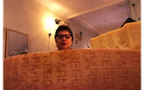 cata horizontal Parmigiano Ragggiano